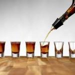 liquor pouring practice