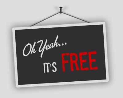 It's Free!