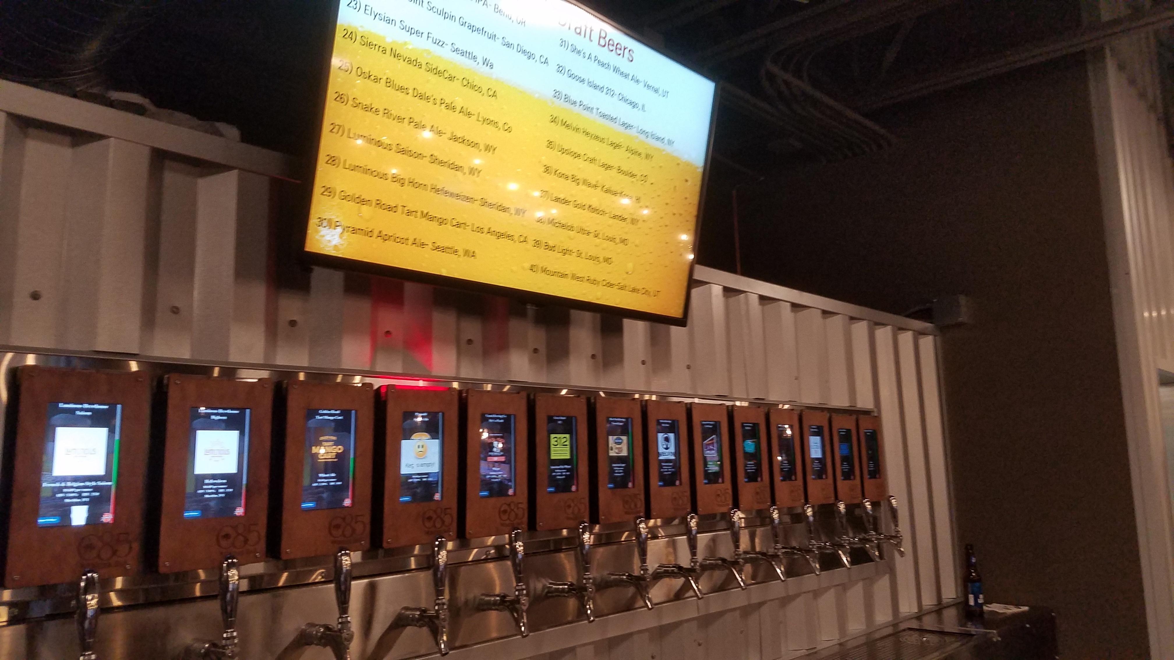iPourIt beer menus