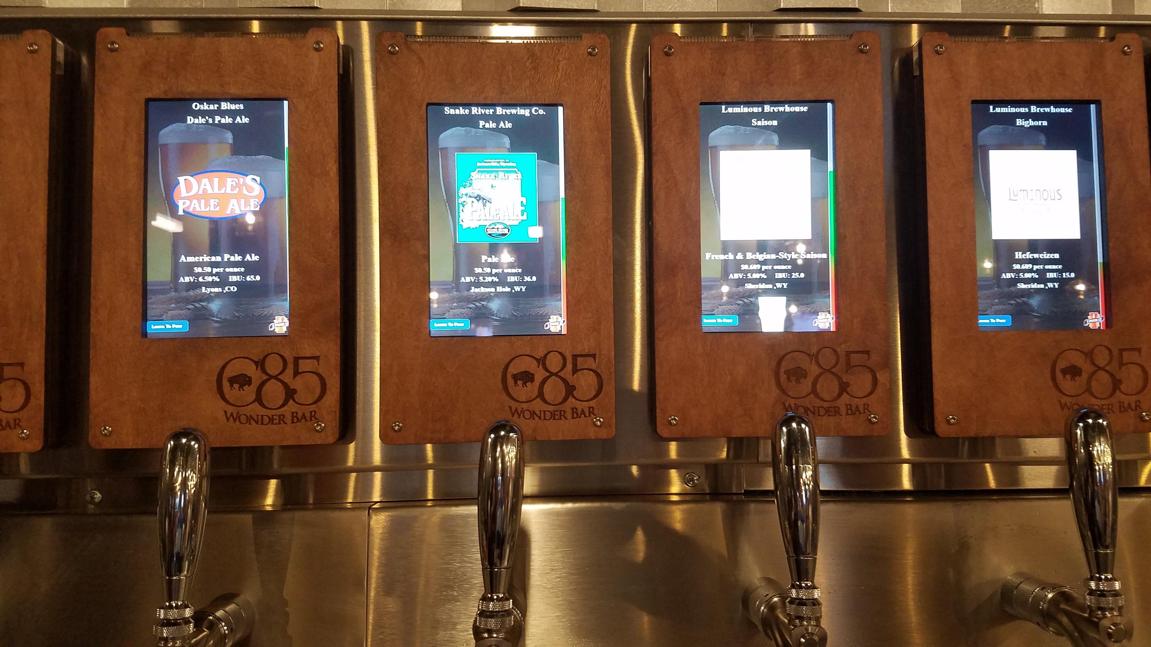 iPourIt self-serve taps