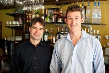 Bar-i owners Scott and Jamie