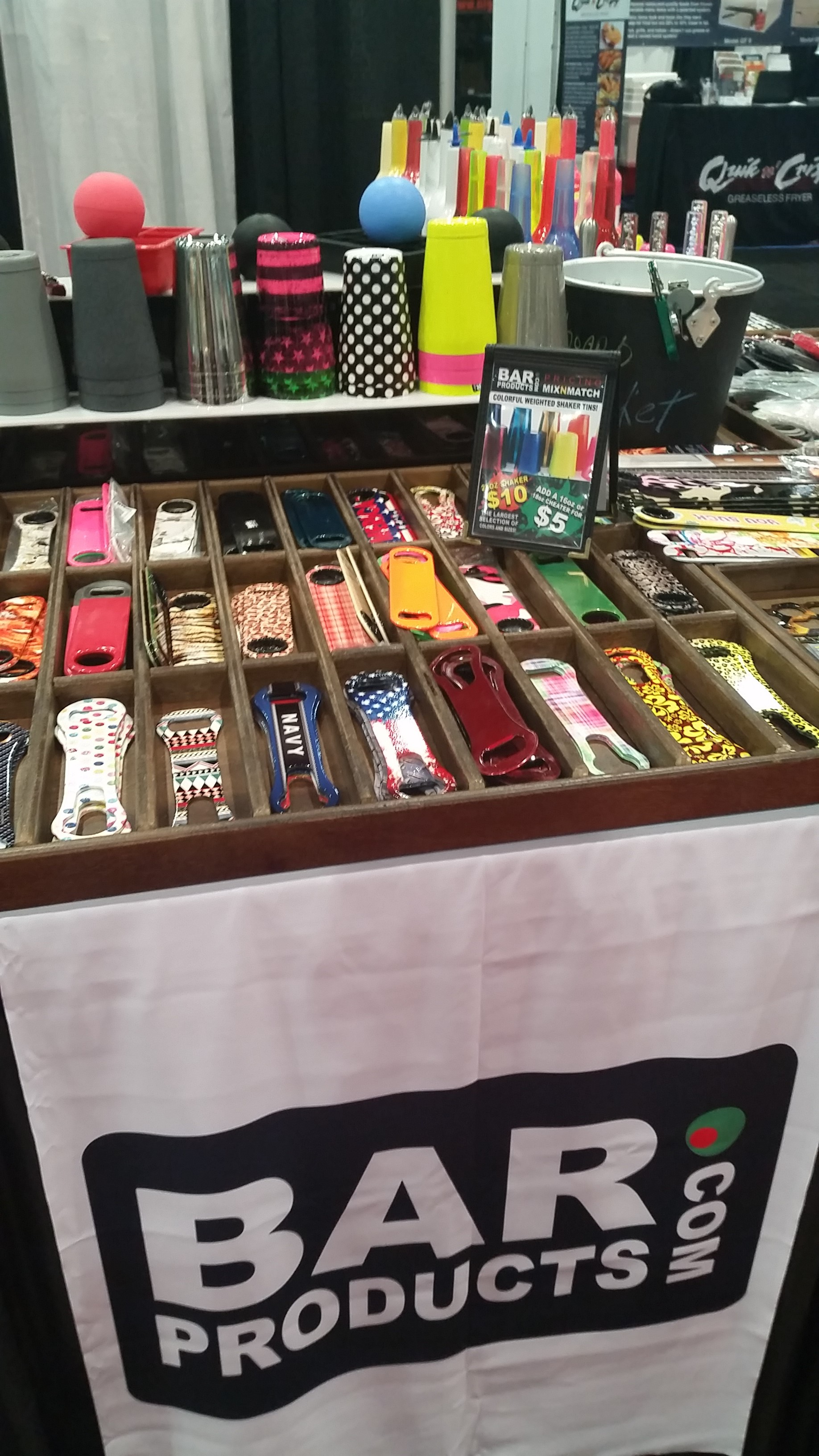 BarProducts.com - NCB Show 2016 Intriguing Products - Bar-i Bar Inventory