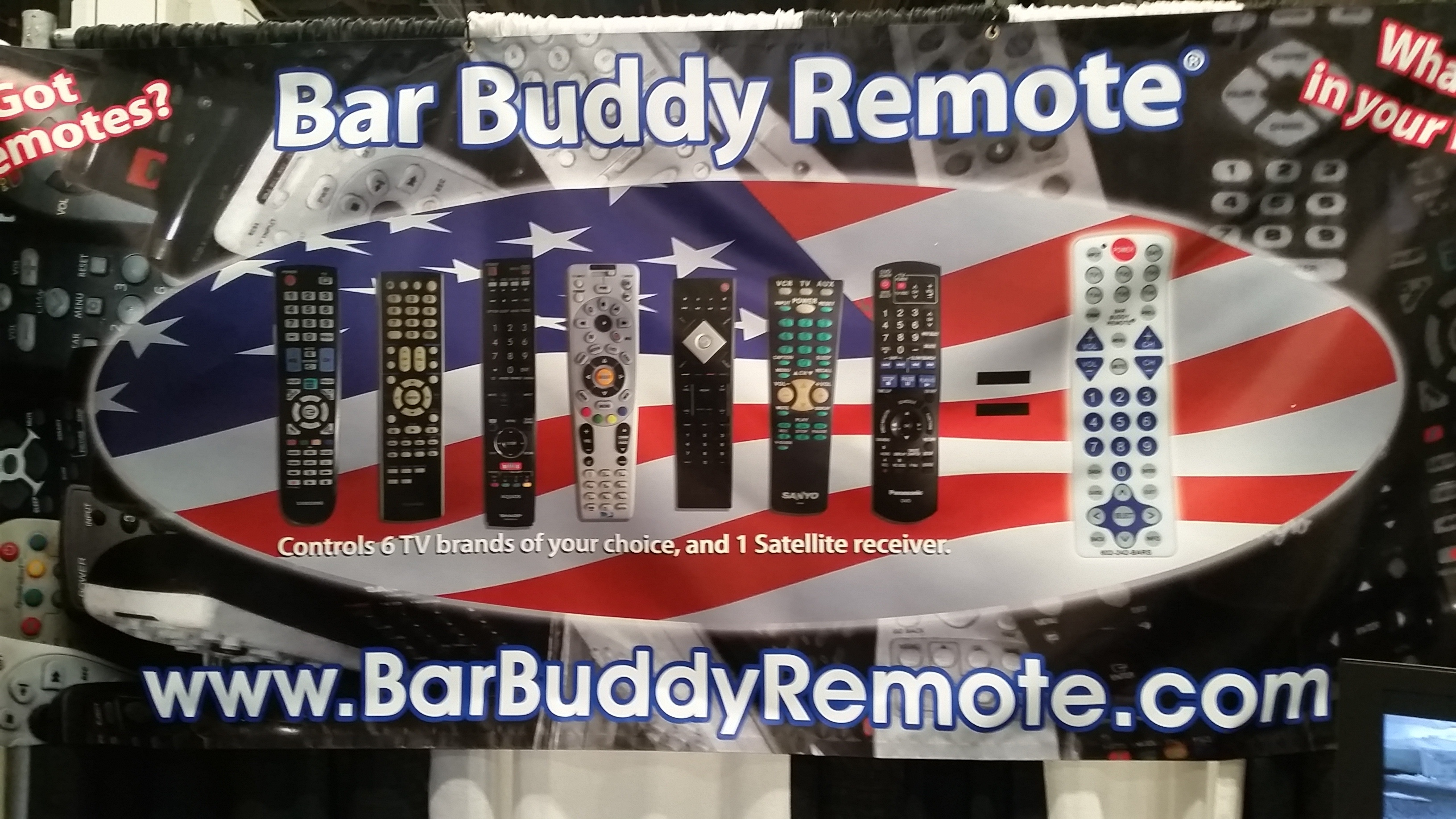 Bar Buddy Remote - NCB Show 2016 Intriguing Products - Bar-i Bar Inventory