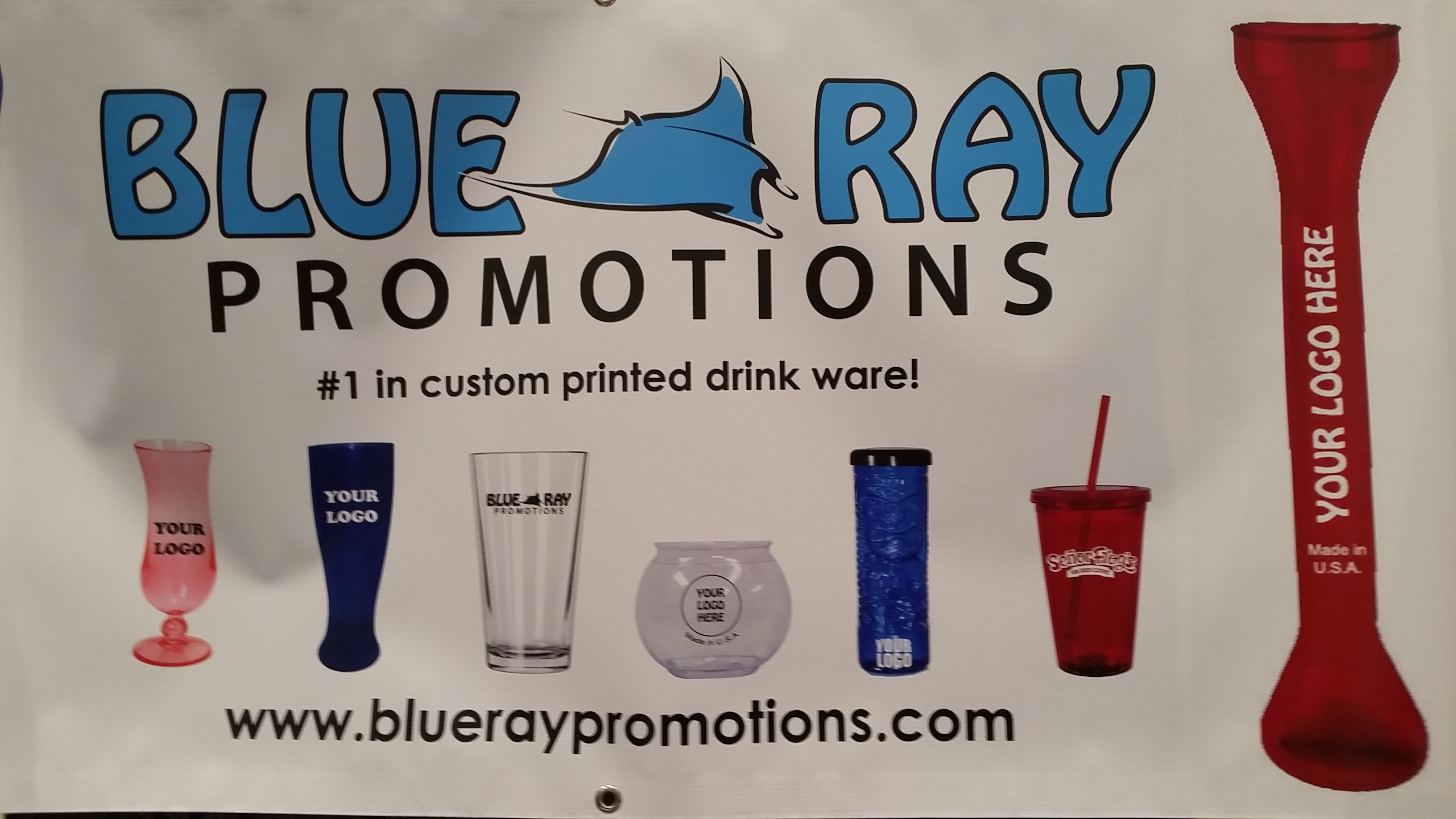 Blue Ray Promotions Custom Drinkware - NCB Show 2016 Intriguing Products - Bar-i Bar Inventory