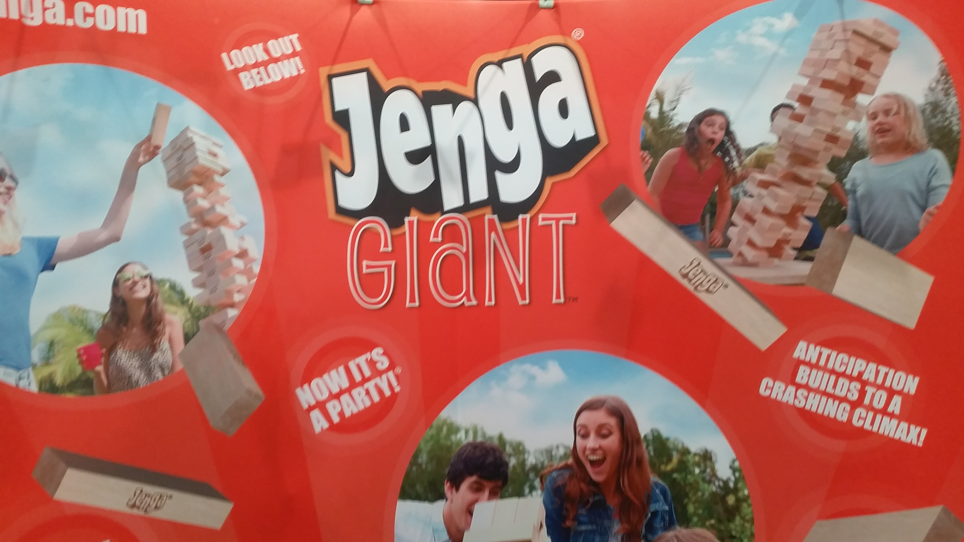 Jenga Giant - NCB Show 2016 Intriguing Products - Bar-i Bar Inventory