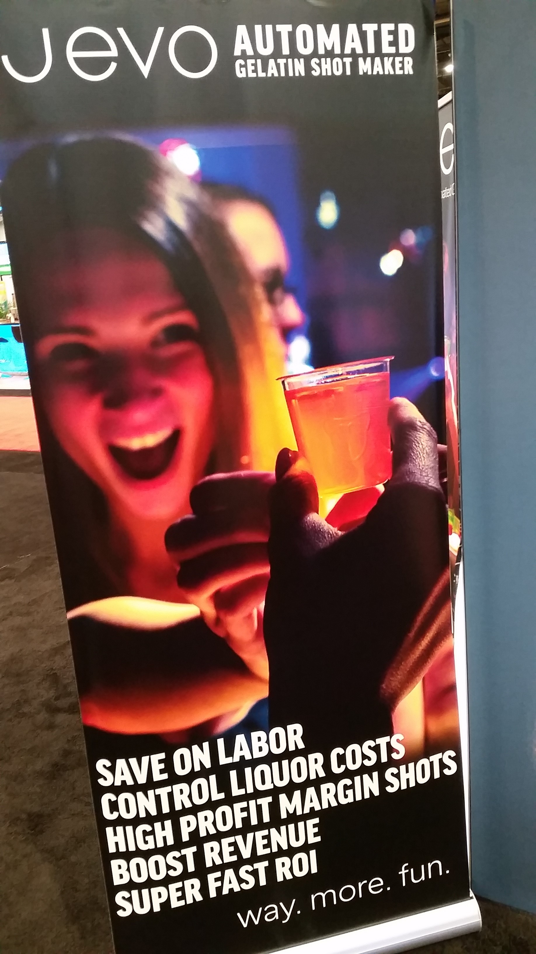 Jevo Jello Shots - NCB Show 2016 Interesting Products - Bar-i Bar Inventory