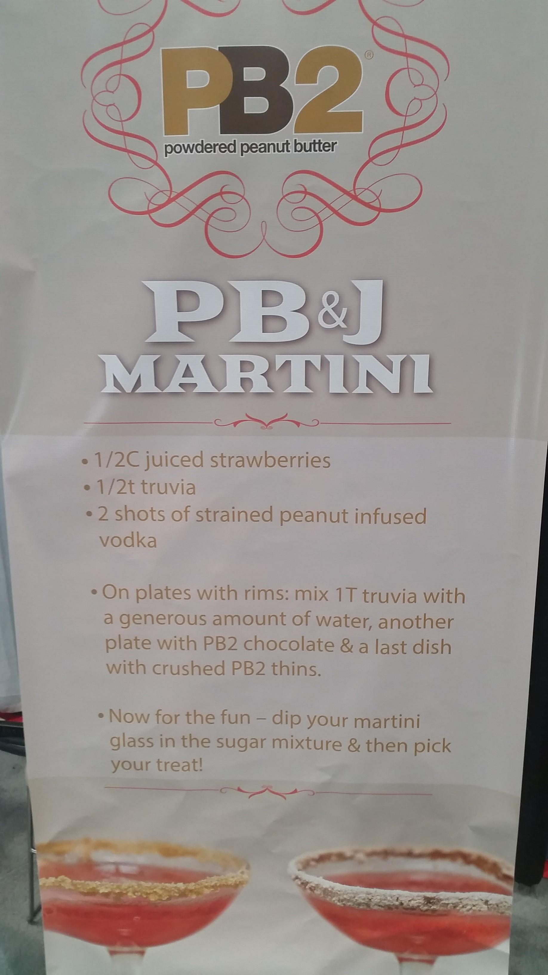 PB2 Powdered Peanut Butter - NCB Show 2016 Interesting Products - Bar-i Bar Inventory