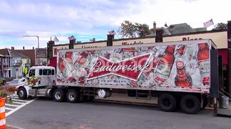 budweiser delivery truck - accounting for delivery values during the bar inventory process