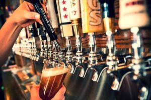 the number of beer lines on your draft beer system will impact your keg yield