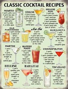 drink recipes - Bar-i liquor inventory