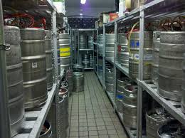 organize your keg room to speed up inventory