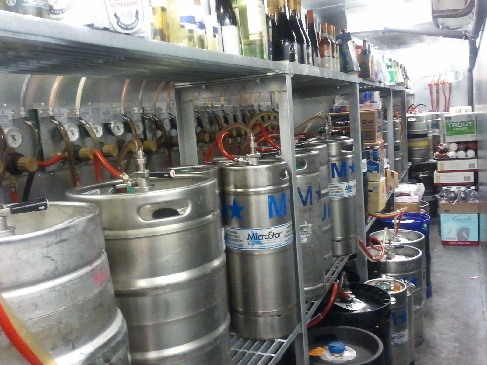12-tap long run draft beer system - Bar-i Bar Inventory