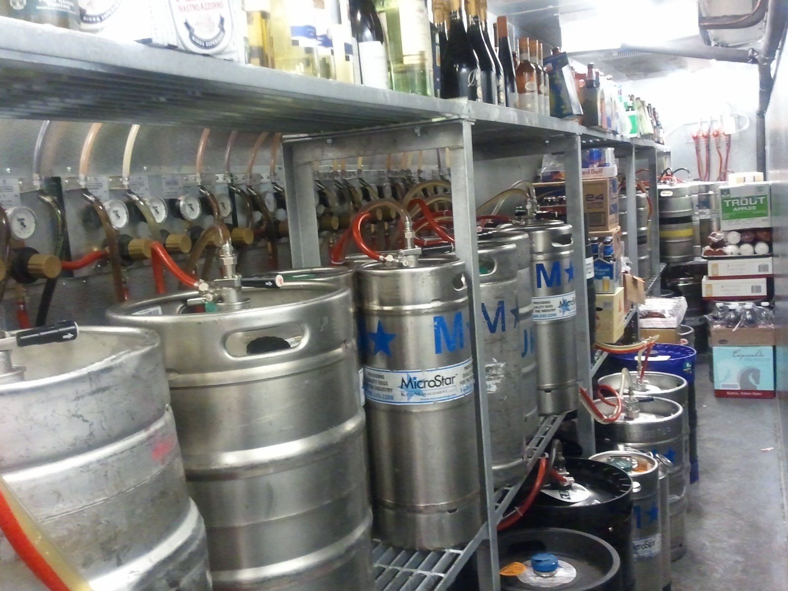 12-tap long run draft beer system - Bar-i Bar Inventory