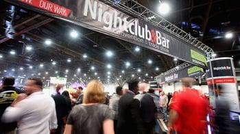 Nightclub & Bar Trade Show attendees