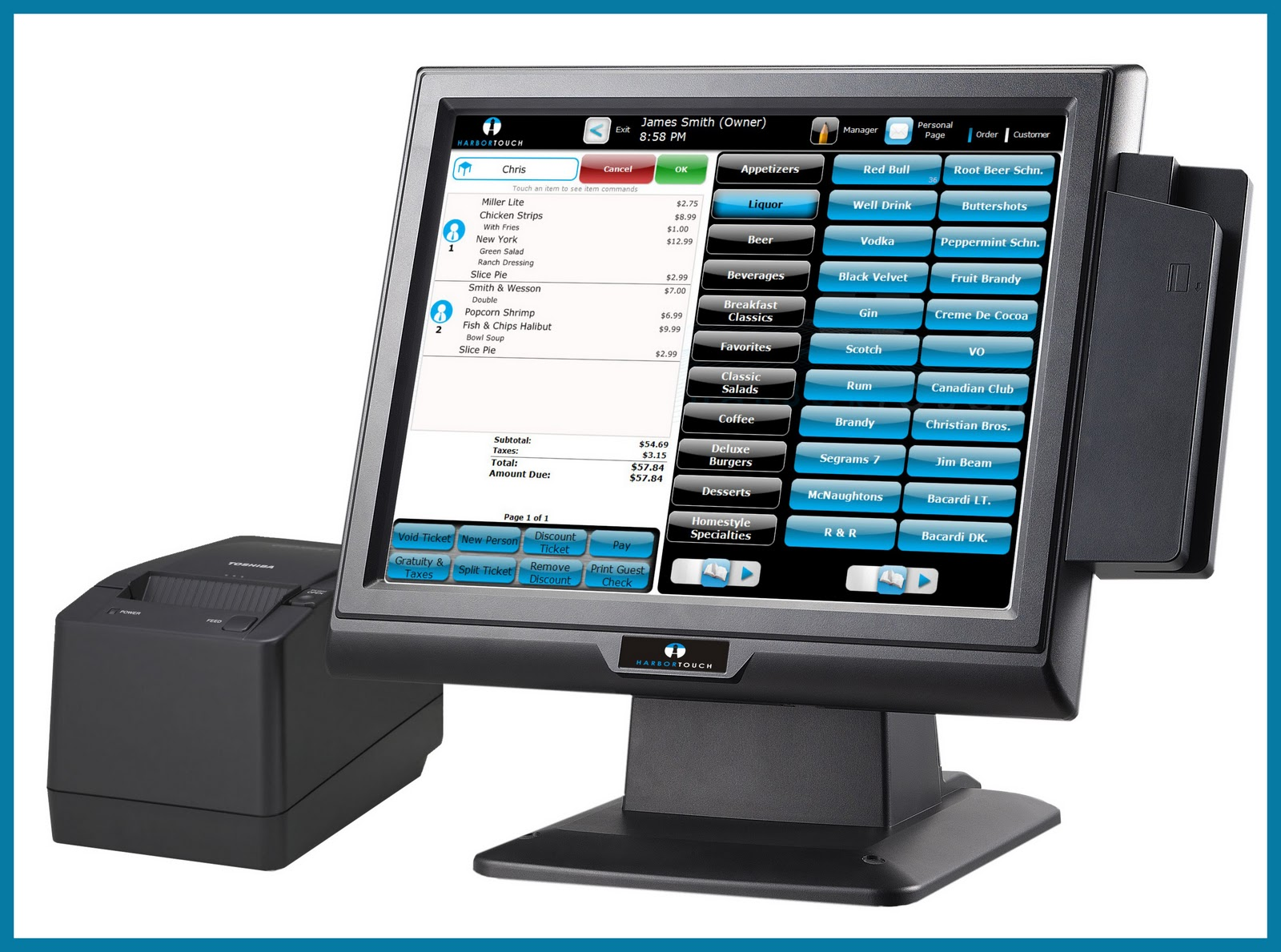 POS adoption in restaurant industry