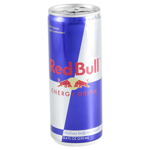 can of Red Bull