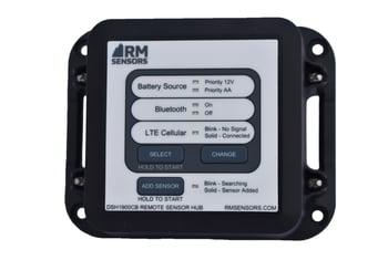 IoT sensor hub to monitor pest control efforts or cooler temperatures at a bar