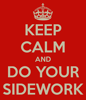 side-work tasks at a restaurant