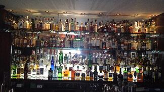 fully stocked bar after ordering guidelines have been established
