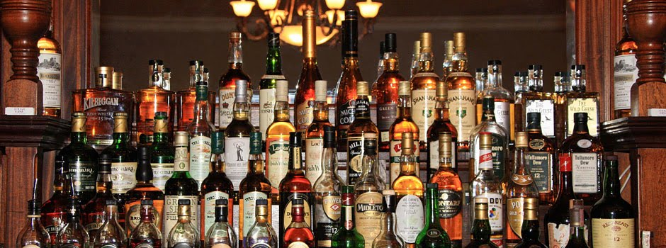 Organizing Inventory Items behind the Bar